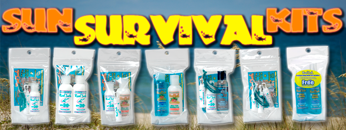 Reef Safe SunCare - Sun Survival Kits
