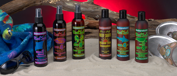 Reef Safe SunCare - Tanning